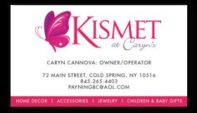 Kismet at Caryn's