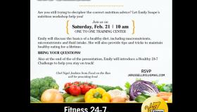 Fitness 24-7 Nourish Yourself