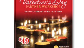 Hot House Yoga Valentine's Day Workshop