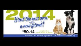 Norfolk SPCA New Friend 2014