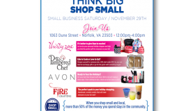 Small Business Saturday – Think Big Shop Small