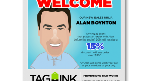 Tag-Ink New Sales Ninja