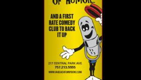 Funny Bone Comedy Club & Restaurant print ad