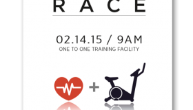 Fitness 24-7 Heart Race poster