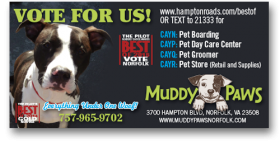 Muddy Paws newspaper ad