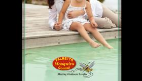 Palmetto Mosquito Control Kiawah Legacy Ball print ad