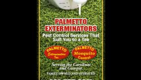 Palmetto Exterminators RBC Heritage Point print ad
