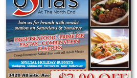 Sofia's At The North End print ad