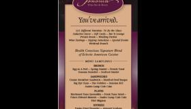 Sonoma Wine Bar & Bistro print ad