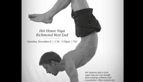 Yax Yoga Concepts Arm Balance Workshop poster