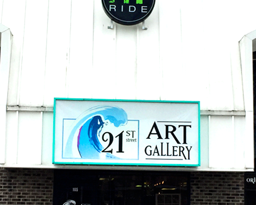 My Ride Fitness Studio / 21st Art Gallery