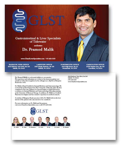 Gastrointestinal Liver Specialists Of Tidewater Postcard