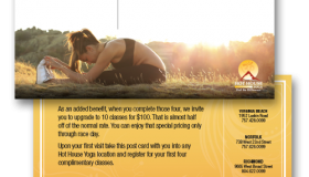 Hot House Yoga Cross Training Postcard