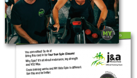 MyRide Cross Training Postcard