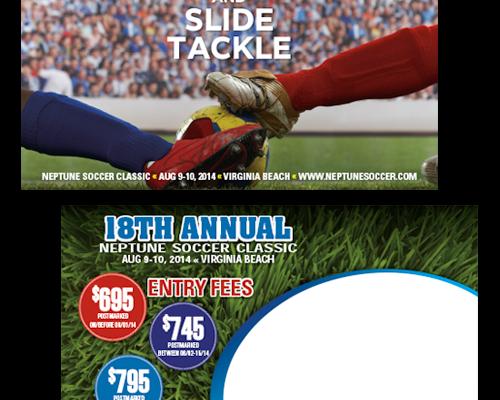 Neptune Soccer Classic Soccer Tournament Postcard