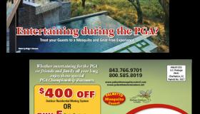Palmetto Mosquito Control Kiawah Island/PGA Postcard