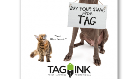 Tag-Ink Self-Promo: Veterinary Clinics Postcard